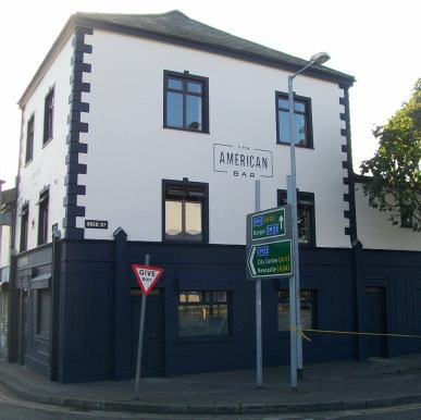 The American Bar, 65 Dock Street, Belfast